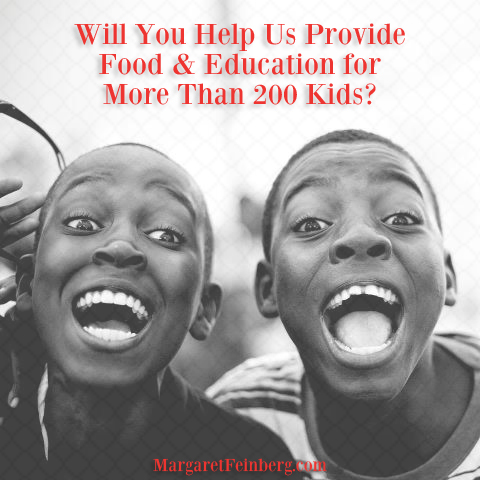 Will You Help Us Provide Food & Education for More Than 200 Kids?