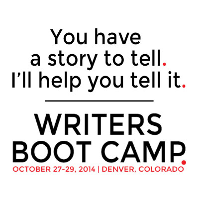 #WritersBootCamp