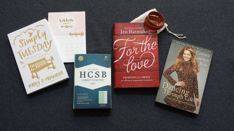 Giveaways You Don't Want to Miss: Candace Cameron Bure, Jen Hatmaker, Emily Freeman