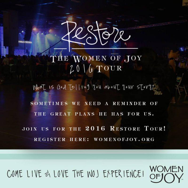 Restore: The Women of Joy 2016 Tour