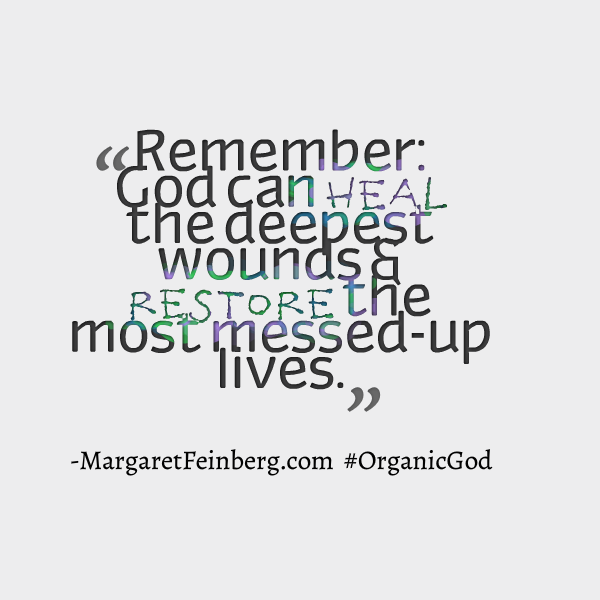 Messed Up Life Quotes: Quotes From The Organic God: Fall In Love With God All